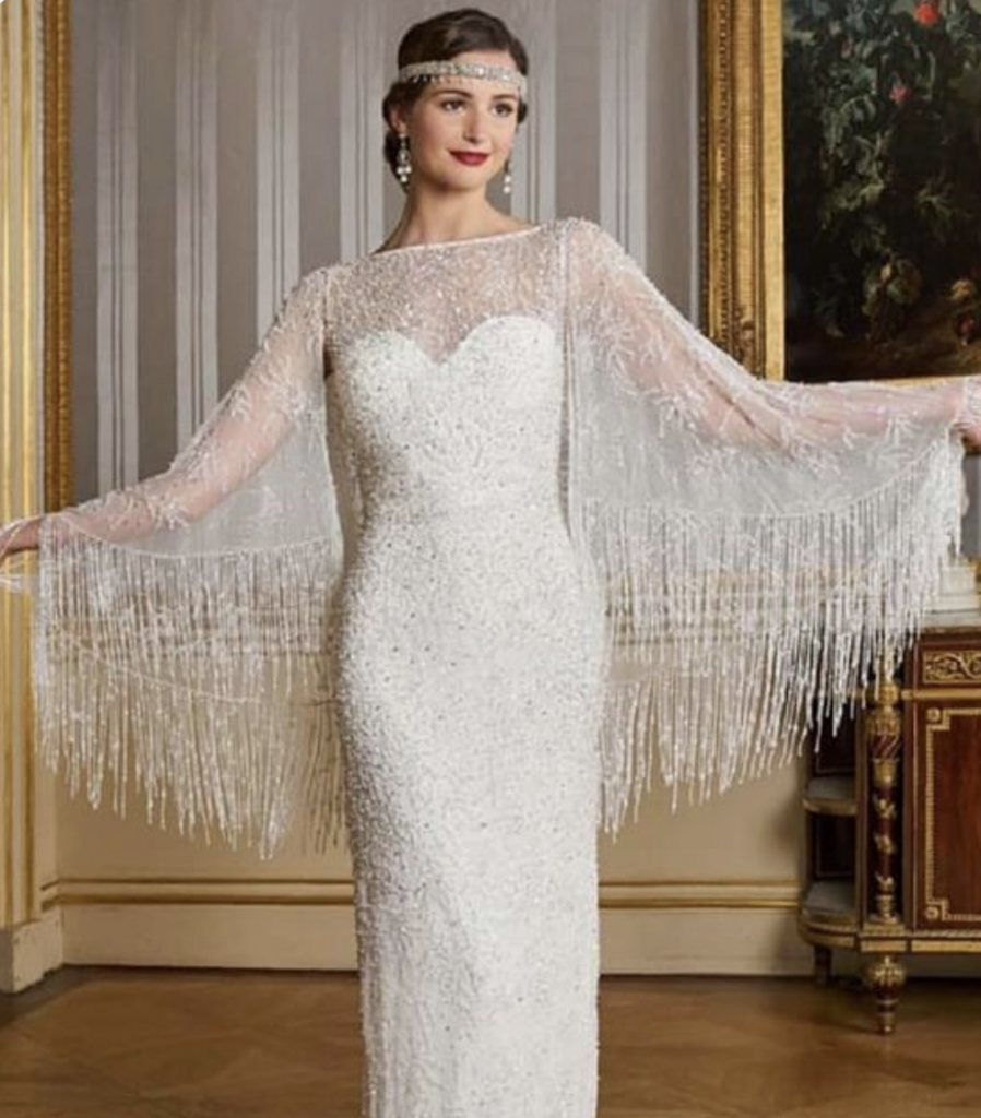 The Best 1920s Wedding Dress Inspo For Vintage Lovers