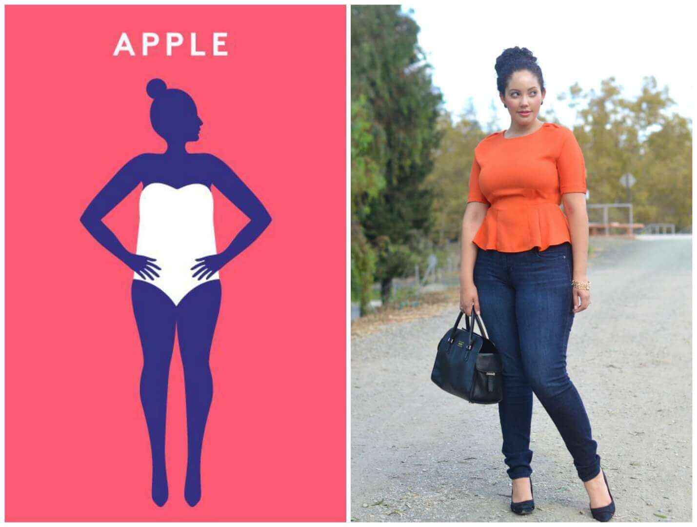 Apple Shaped Body