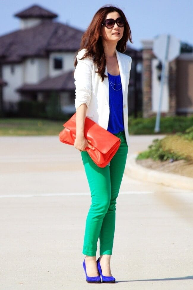 6 Shades Of Green How To Wear Green Pants To Create Stylish Outfits