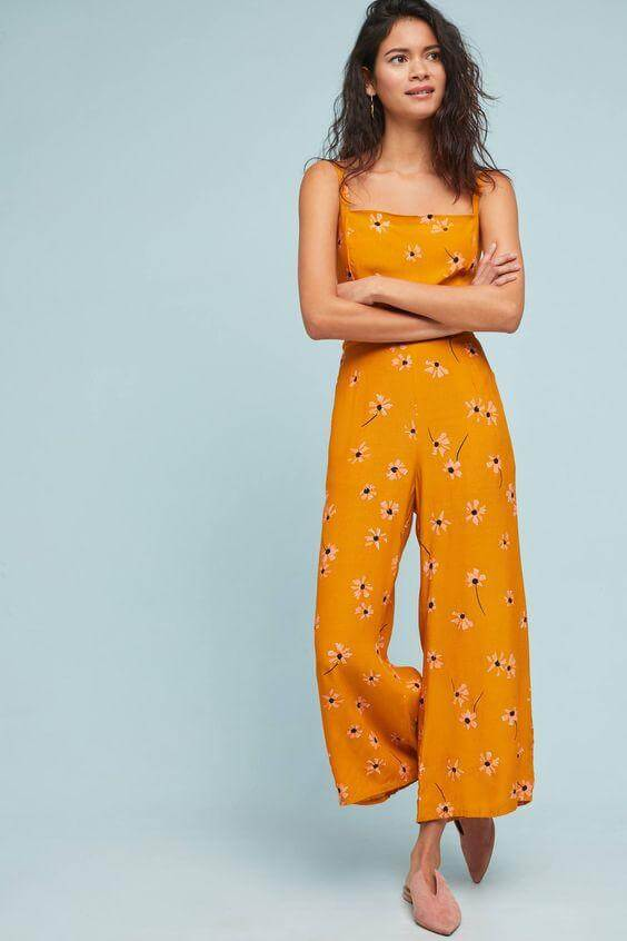 Wide-Legged Jumpsuit