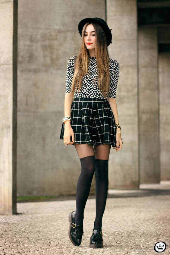 416a3a753c A Comprehensive Guide about Skater Skirt Outfits - Miss Prettypink