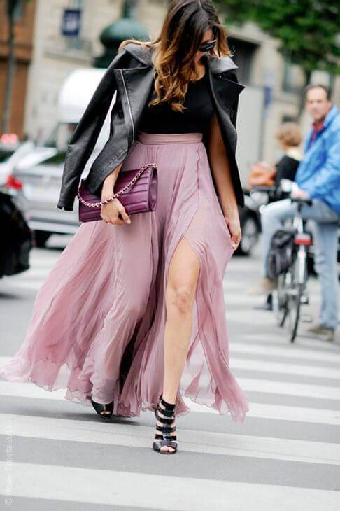 How to Wear a Maxi Skirt Fashionably