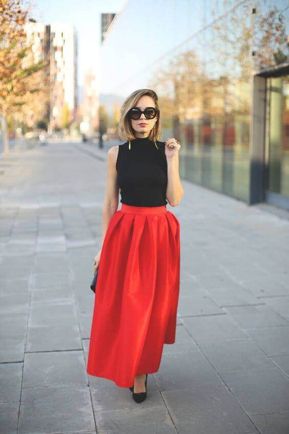How to Wear a Maxi Skirt Fashionably (7)