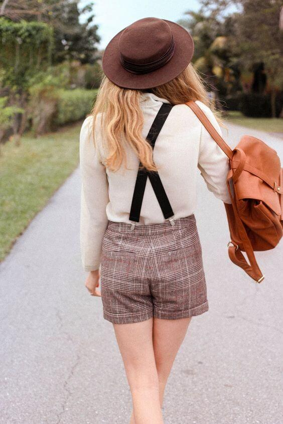 Suspenders with Short