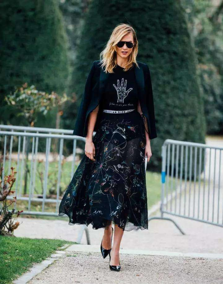 How to Wear Veil Skirts Fashionably all Year Round?