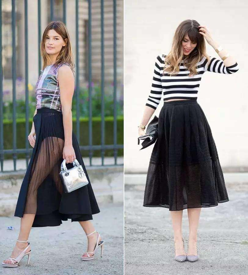14858c20cc4 How to Wear Veil Skirts Fashionably all Year Round  - Miss Prettypink