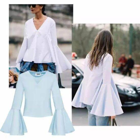 Blouse Trends : 5 Latest Summer Top Styles to Follow in 2018