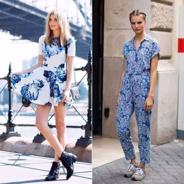 How to Wear Printed Dress
