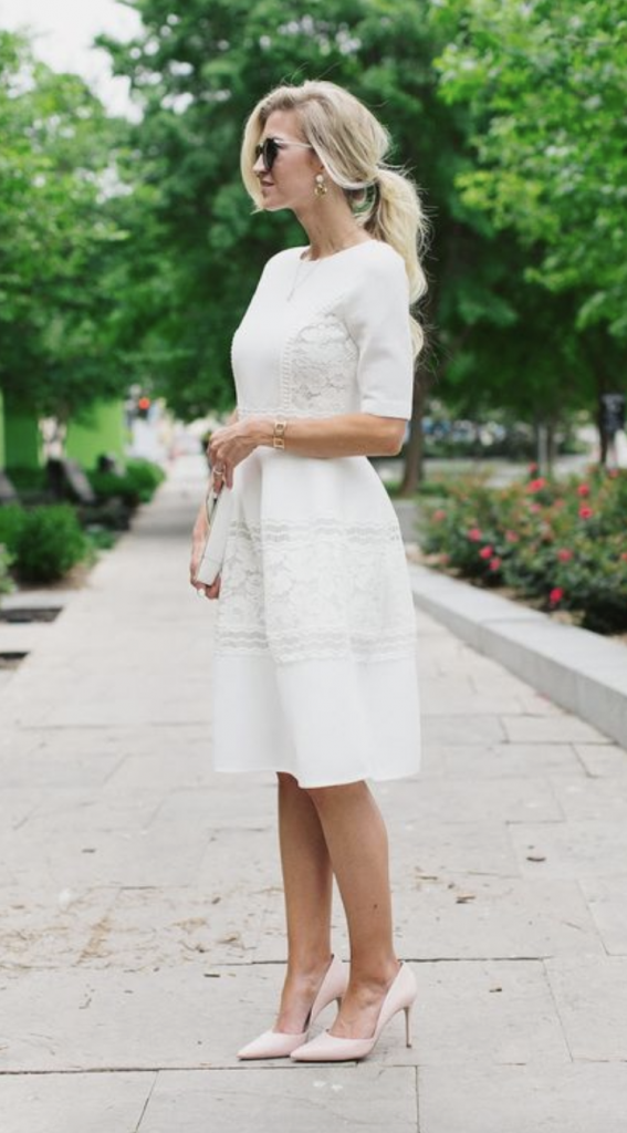 shoes to pair with white dress review