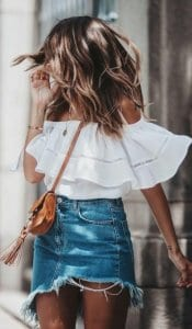 Casual ideas for short skirts