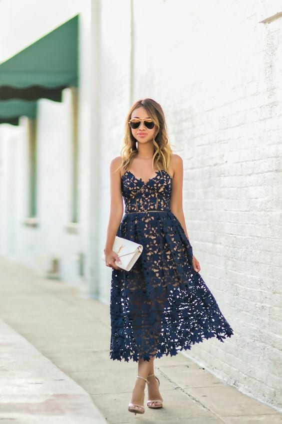 The Perfect Shoe For A Lace Dress A Complete Style Guide