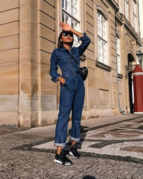 all denim outfit for women