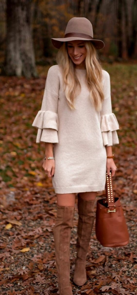 7 Styling Tips On How to Wear a Dress in Cold Winter