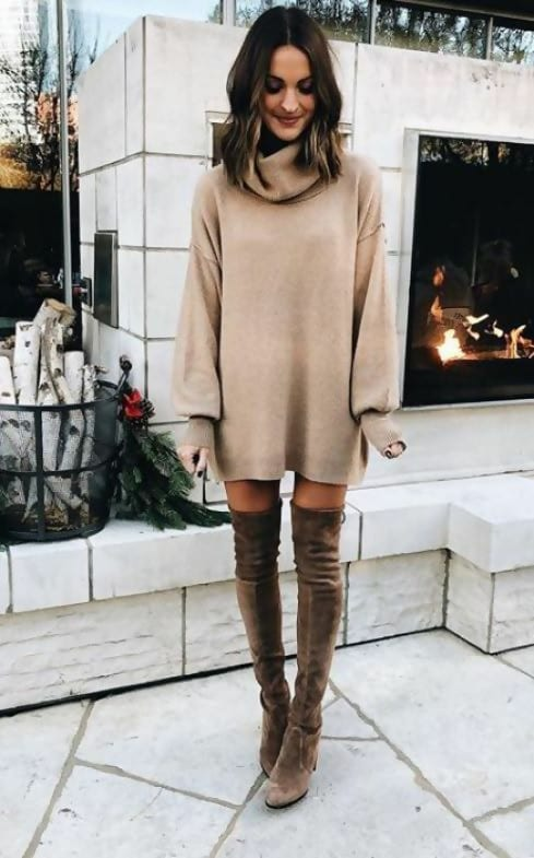 winter dresses outfits