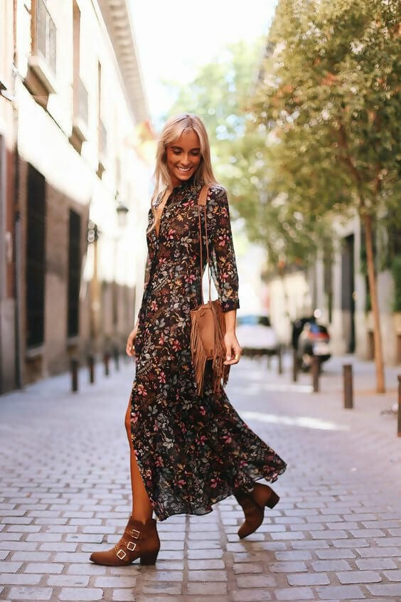 The 6 Trendiest Shoe Styles for Long Dresses
