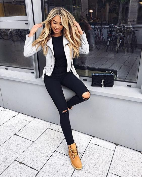 How to Wear Timberland Boots: Top 35 Outfit Ideas