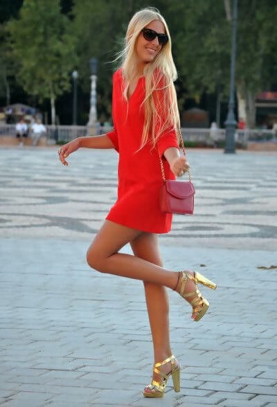 What Color Shoe To Wear With Red Dress 8 Stylish Color Ideas